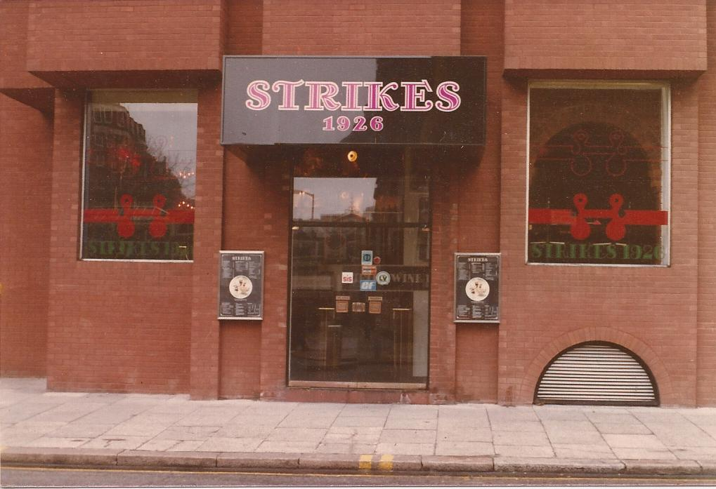 Strikes 1926 photo restaurant