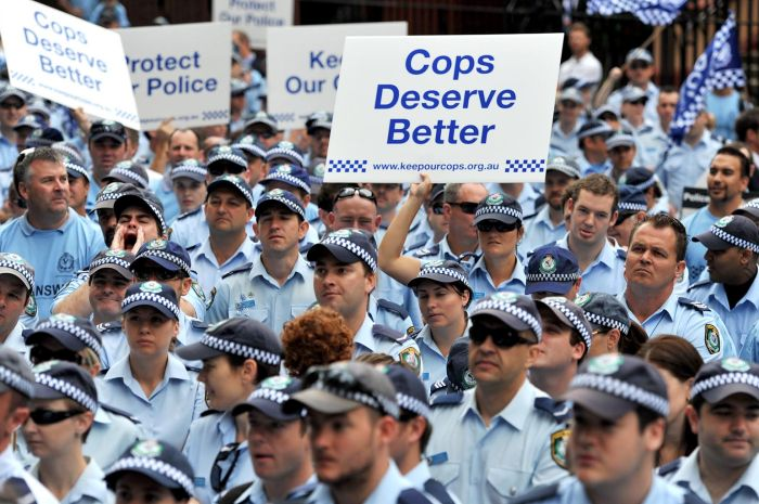 cops deserve better - new south wales