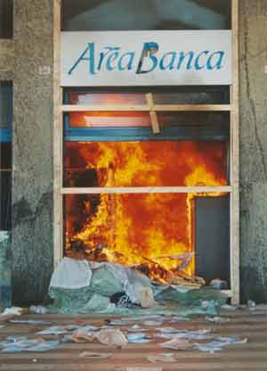 genoa bank burning