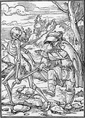 blindman and death