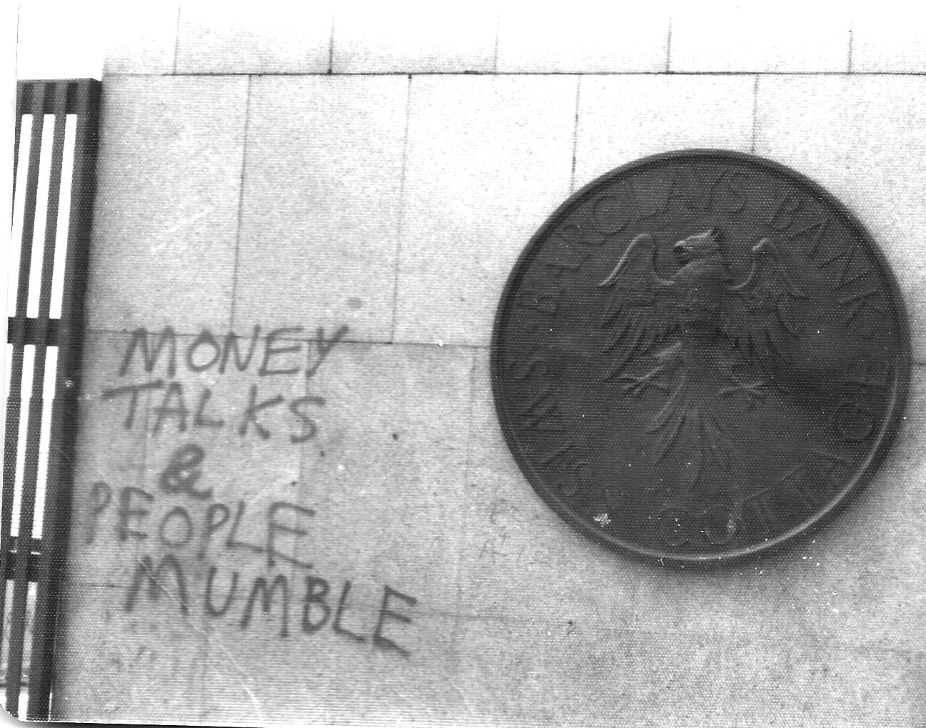 graffiti money talks