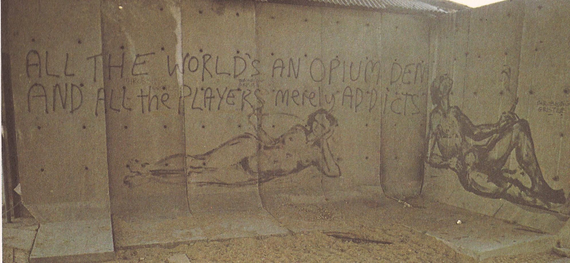 graffiti opium den