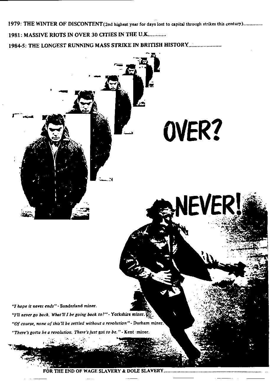 over never poster
