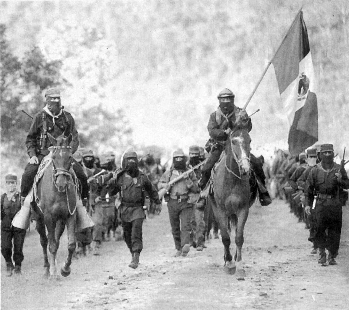 EZLN with Marcos