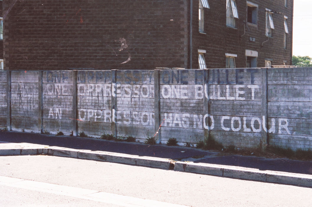 graffiti  oppressor has no colour