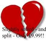 broken heart for sale