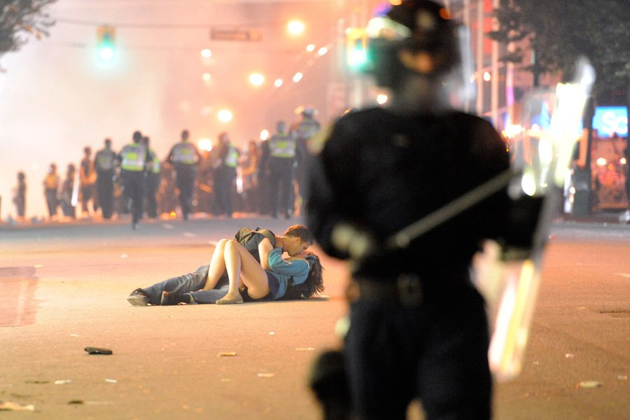 stanley cup riots, vancouver