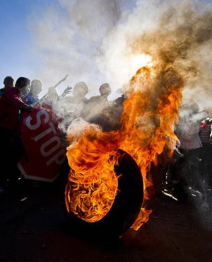 soweto protest 1st sep 2013