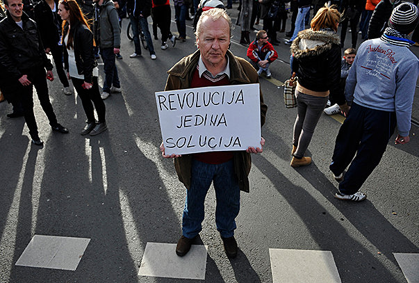 bosnia revolution only solution