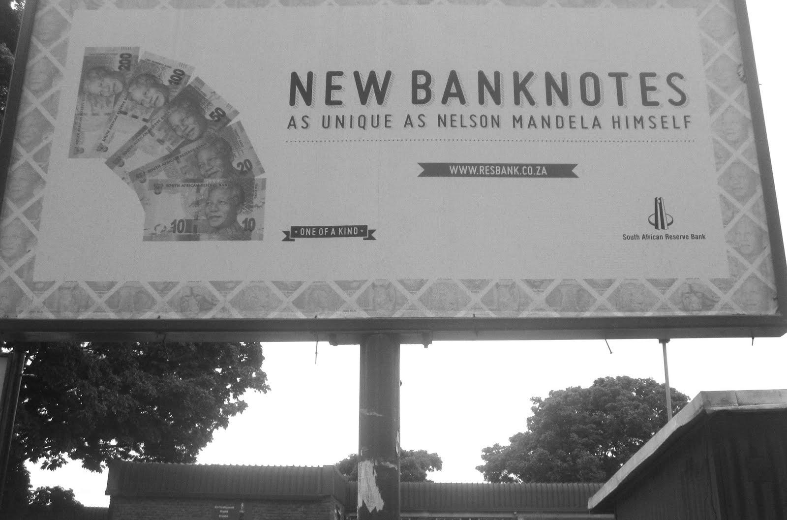 Mandela banknotes