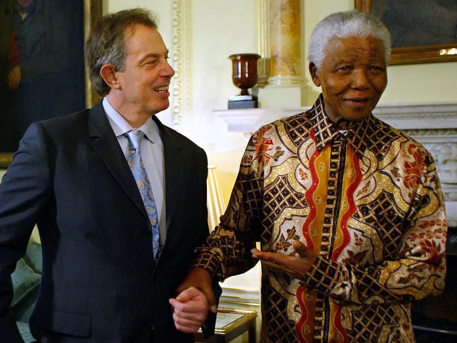 South Africa's former President Nelson M