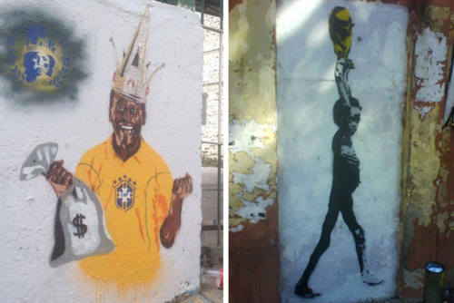 brazil graffiti anti world cup