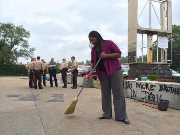 ferguson clean-up