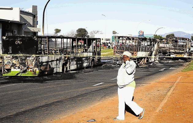 Nyanga taxi-driver's strike