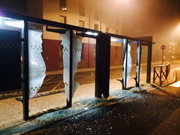 rennes buss shelters