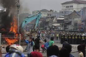 Kampung Pulo riot