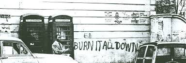 burn it all down graffiti