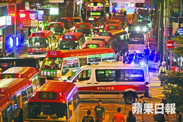 hong kong minbus drivers