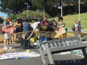 barricades sape town uni 0ct 2015