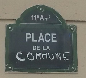 paris place de la commune
