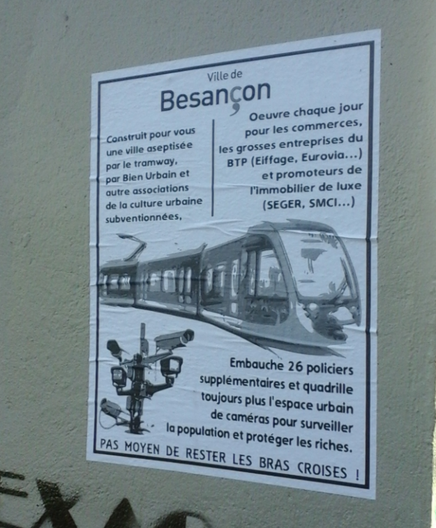 besancon transport poster