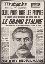 humanite stalin